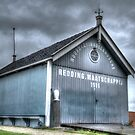 Rescue shed by Peter Wiggerman