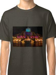 Buckingham Fountain Blue Top Classic T-Shirt