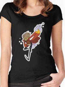 Rumples Women's Fitted Scoop T-Shirt