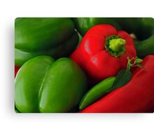 Pepper Harvest Canvas Print