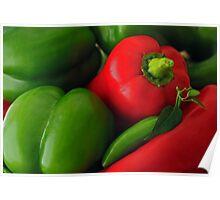 Pepper Harvest Poster