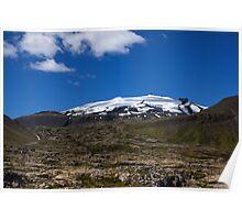 Snæfellsjokull glacier Poster