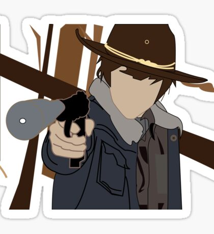 Carl - The Walking Dead Sticker