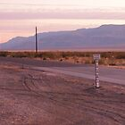 Flood Gauge on the West Texas Plain by seymourpics