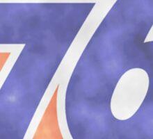 76 Gas Station retro logo Sticker