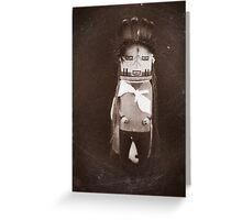 Indian Hopi - Navajo Doll Greeting Card