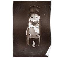 Indian Hopi - Navajo Doll Poster