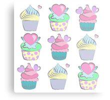Sweet cupcakes Metal Print