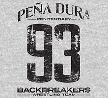 Peña Dura Backbreakers Wrestling Team (Black) Unisex T-Shirt