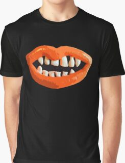 A Mouth Graphic T-Shirt