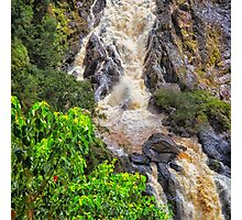Beautiful tropical waterfall Photographic Print