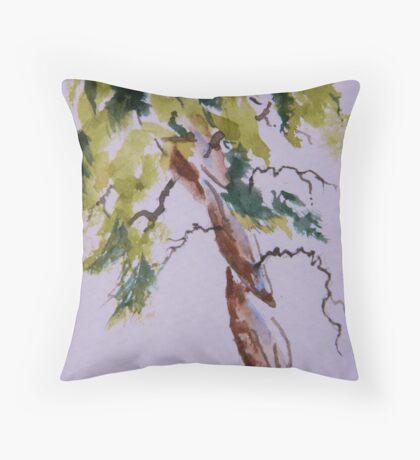 Cypress Curves Throw Pillow
