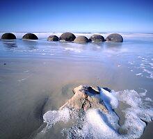 Moeraki Boulders by Simone Kelly