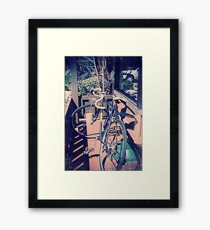 1985 Bike Framed Print