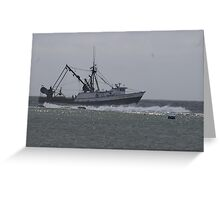 Into Safe Harbor Greeting Card