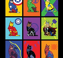 Kitty Avengers by MldirtySocks