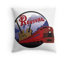 The Railroad Revival Throw Pillow