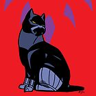 Black Panther Kitty by MldirtySocks