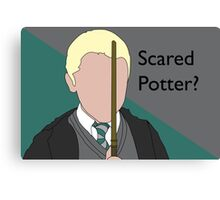 Scared Potter? Canvas Print