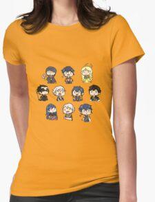 Fire Emblem pattern Womens Fitted T-Shirt