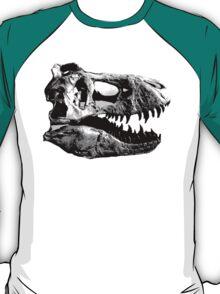 T-Rex Halfdot Skull T-Shirt