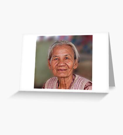 Graceful Elder Greeting Card