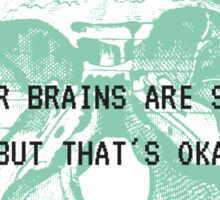 Brains Sticker