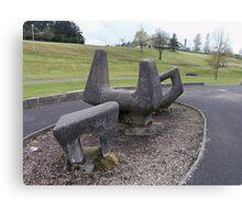 East Kilbride - Jim Barclay Sculptures On Baths Hill Canvas Print