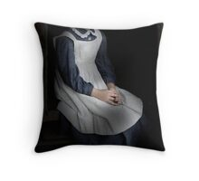 Lonely Child Throw Pillow