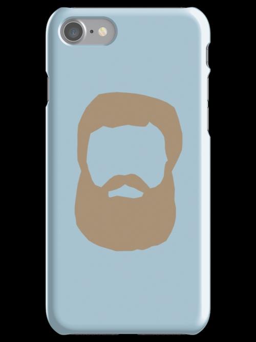 Real Men Have Beards (Brown Beard) by CoolFRI