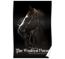 Western Horse Poster