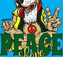 PEACE LOVE AND PIT BULLS by urbansuburban