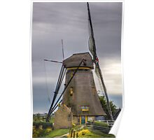 old preserved windmill Poster
