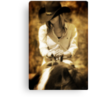 WESTERN GIRL Canvas Print