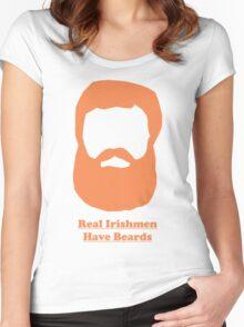 Real Irishmen Have Beards Women's Fitted Scoop T-Shirt