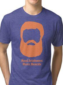 Real Irishmen Have Beards Tri-blend T-Shirt