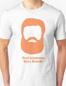 Real Irishmen Have Beards Unisex T-Shirt