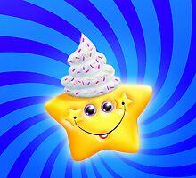 Kawaii Puffy Star  by komodoempire