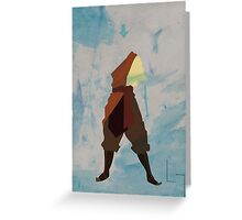 Aang Greeting Card