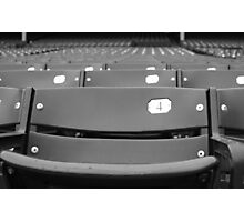 All-American Seat Photographic Print