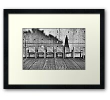 Seating for Six Framed Print
