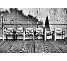 Seating for Six Photographic Print