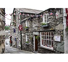 Sheila's Cottage,Ambleside Photographic Print