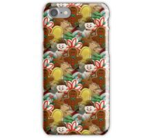 Festive Christmas Cookies Pattern iPhone Case/Skin