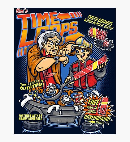 Time Loops Photographic Print