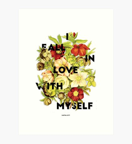 I Fall In Love, 2015 Art Print