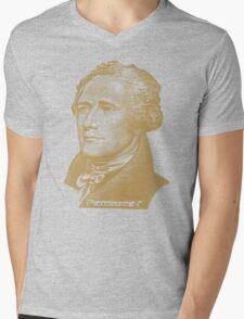 Alexander Hamilton Portrait Mens V-Neck T-Shirt
