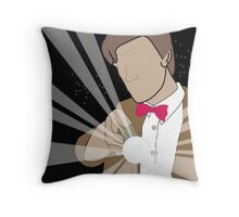 The Eleventh Doctor Throw Pillow