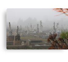Foggy Morn in Goulburn Canvas Print