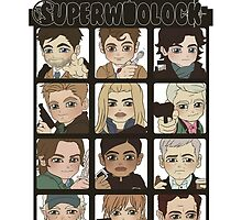 superwholock squad by Littleartbot